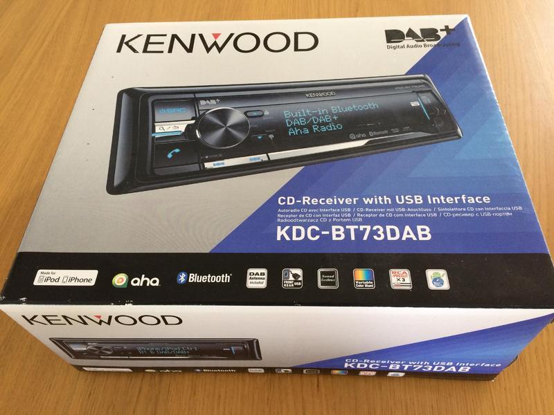 kenwood kdc bt73dab car stereo in steyning friday ad. Black Bedroom Furniture Sets. Home Design Ideas