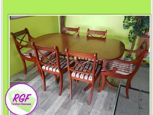 20% OFF SELECTED ITEMS!! Extendable Dining Table & 6 Chairs - Local Delivery £19 in Lancing