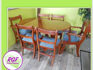 20% OFF SELECTED ITEMS!! Extendable Dining Table & Set Of 6 Chairs - Local Delivery £19 in Lancing