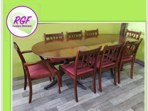 20% OFF SELECTED ITEMS!! Extendable Dining Table & Set Of 8 Chairs - Local Delivery £19 in Lancing