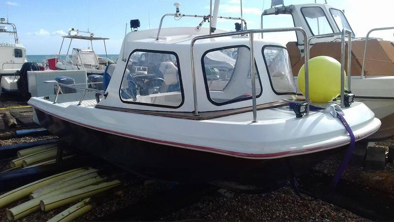18ft dell Quay dory With twin tohatsu outboards in Hastings