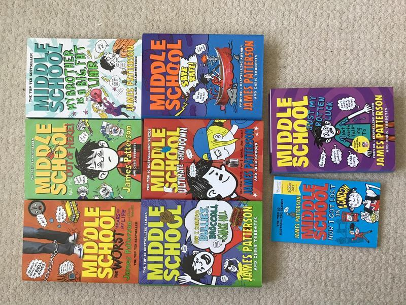 Middle School Series James Patterson In Polegate Friday Ad