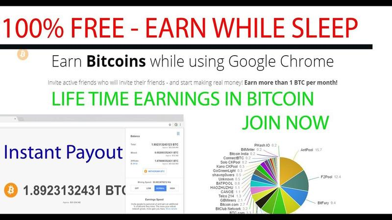 How To Earn Bitcoins While Using Google Chrome Bitcoin T -