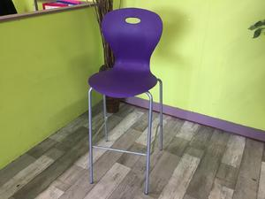 Purple Stool in Lancing