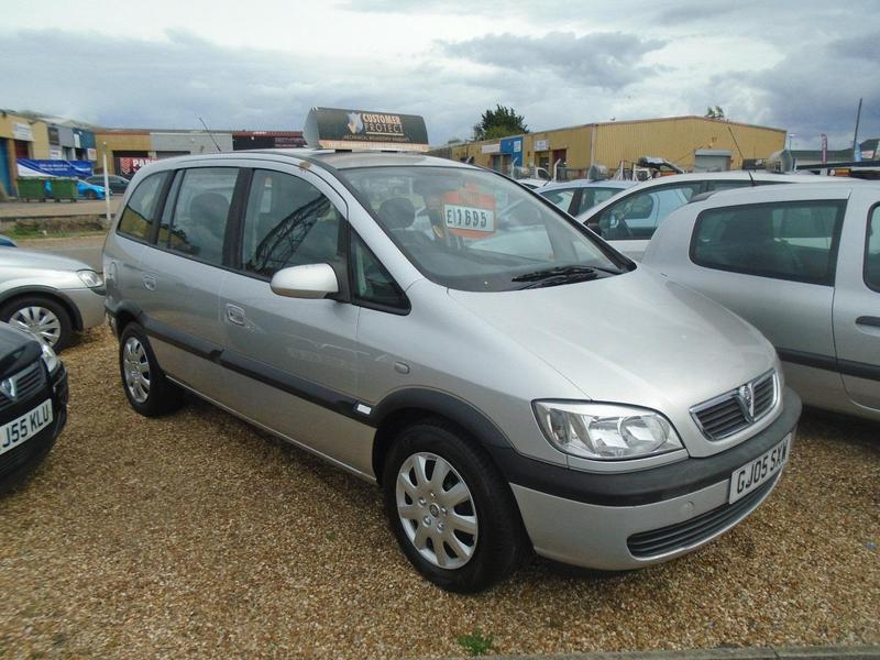 Vauxhall Zafira 2005 In Eastbourne Friday Ad