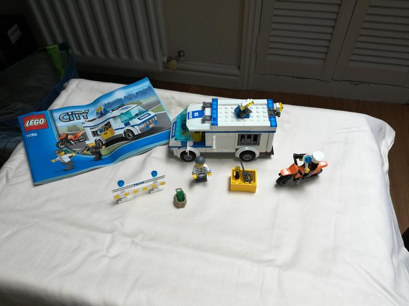 Lego City 7286 Cops And Robbers In Chippenham Sold Friday Ad