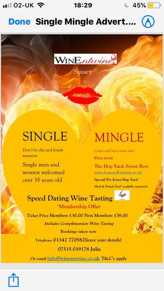 Speed dating hove