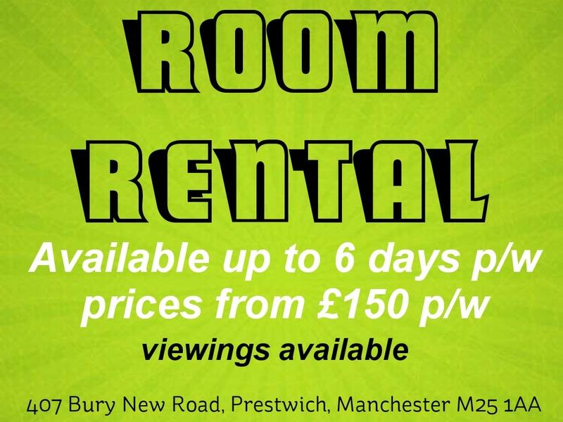 Room To Rent For Beauty Treatments