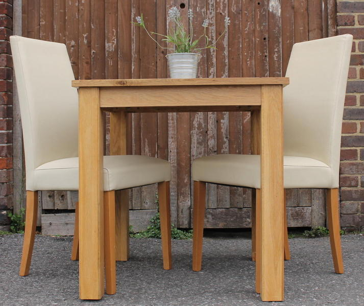 Oak Table & 2 Chairs In Haywards Heath