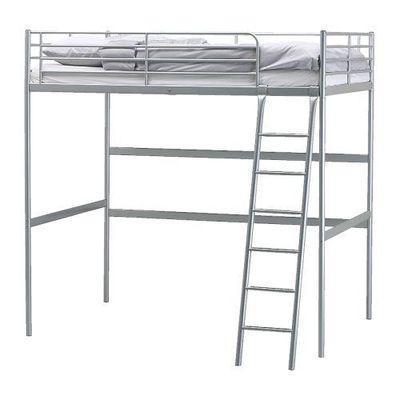 Ikea Tromso Single Loft Bed 900 199 53 High Sleeper Silver