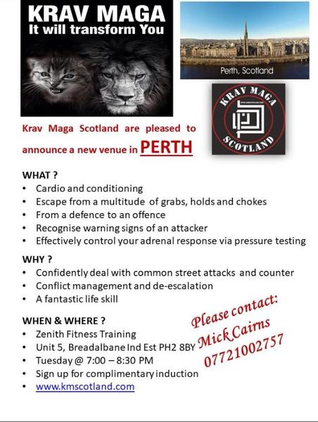 Krav maga perth scotland