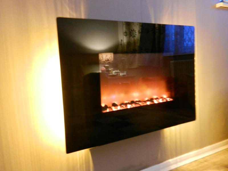 Be Modern Orlando 2kw Electric Fire Model 1006 With Remote Control