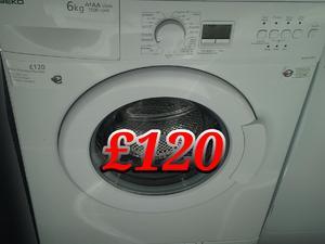 Washing Machine 6kg Beko White  in St. Leonards-On-Sea