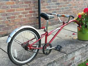 Bicycle tandem bike tow child Tag Along attachment, used for sale  Sissinghurst
