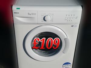 Washing Machine Beko White  5kg  in St. Leonards-On-Sea