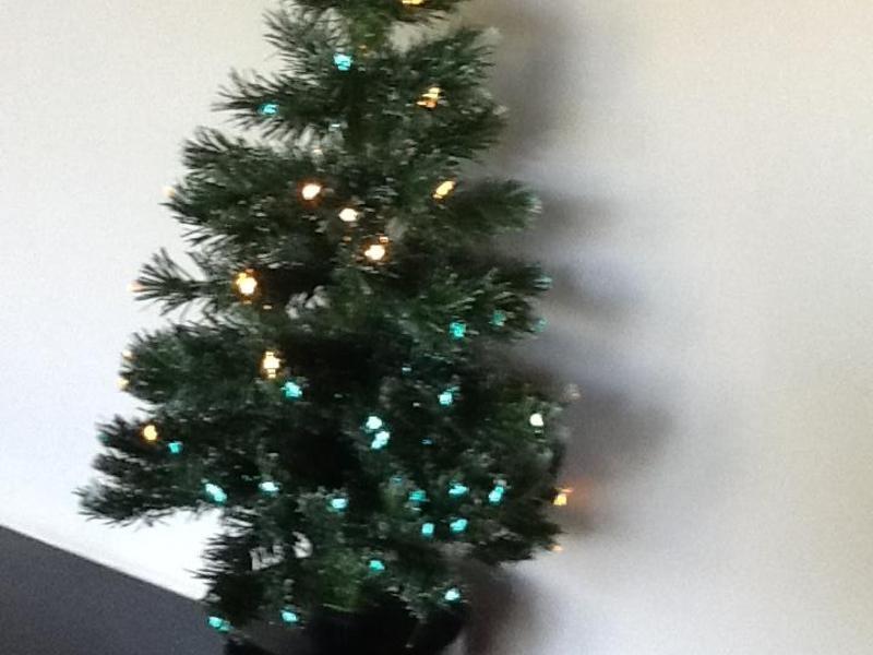 Fibre Optic Christmas Tree In Pulborough
