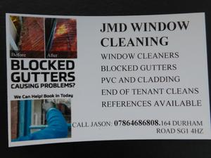 local window cleaner reliable friendly service
