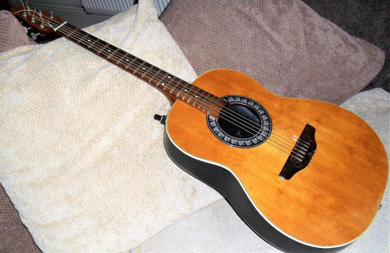 Semi Acoustic Guitar To Clear Bowed Neck Issue Still Playable