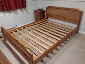 Used King Size Bed The Office
