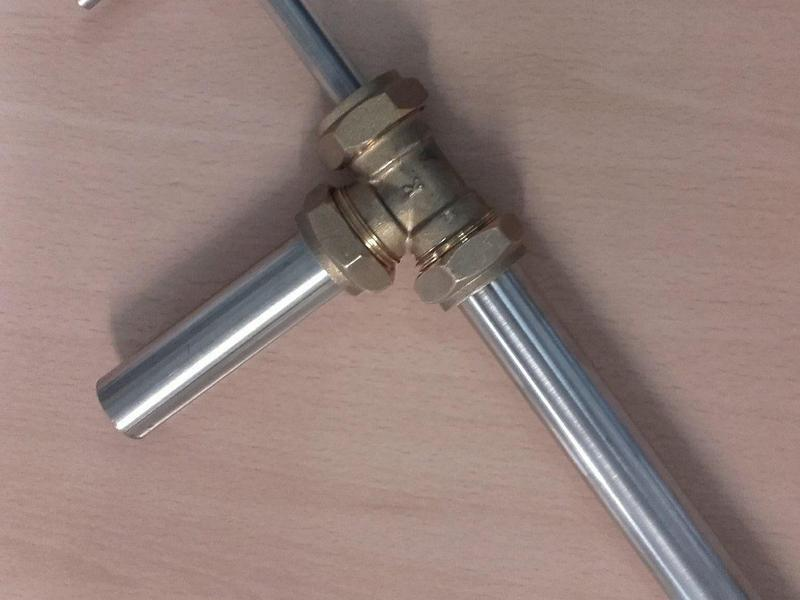 09b44063fee BRAND NEW 22mm STAINLESS STEEL ,BAIT PUMP, for pumping lug/rag in Newhaven  - Expired | Friday-Ad