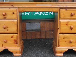 Ikea gustav desk dressing table in billingshurst expired