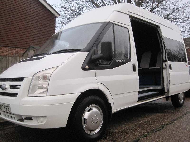 a79a62ae1237a4 2007 FORD TRANSIT 2.4 TDI LWB 2 BERTH HIGH TOP CAMPERVAN in Henfield -  Expired