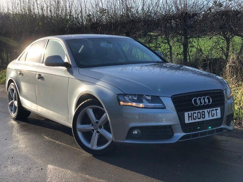 Audi A4 2008 In London Friday Ad