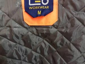 Hi Viz Warrior Bomber Jacket New Medium Size Bargain 10 In
