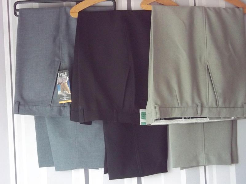 3 PAIRS MENS TROUSERS   2 T SHIRTS in Rushden  545ab11ee24
