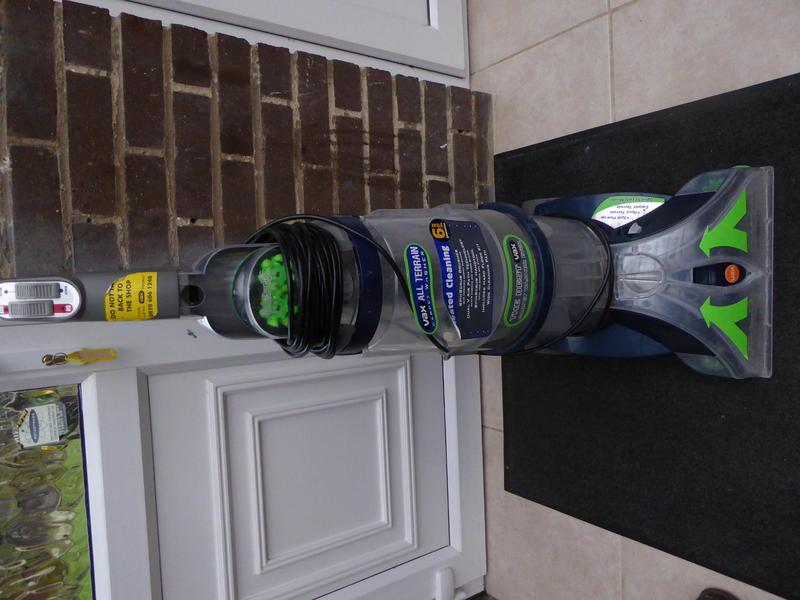 Vax Carpet Cleaner All Terrain V 125 Carpet Vidalondon