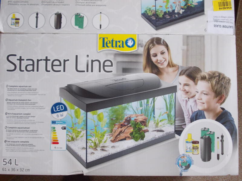 Tetra Starter Line 54 Litre Complete Aquarium Set Up In Haywards
