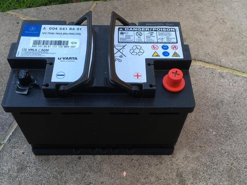 Mercedes-Benz Car Battery in Portsmouth - Sold | Friday-Ad