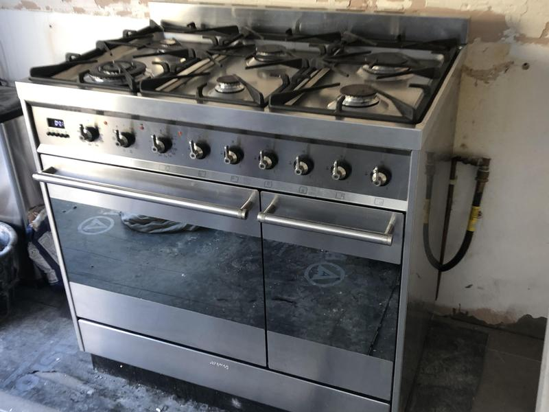 Smeg Dual Fuel Range Cooker Stainless Steels In Brighton Friday Ad