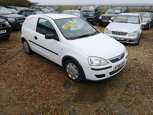 25f56a217e Used Car Derived Van Vauxhall Corsa Commercial Vehicles for Sale ...