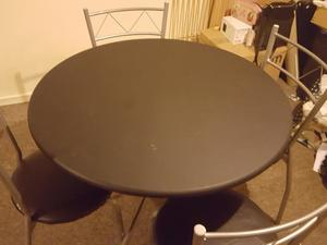Dining Table With 4 Chairs In Leicester