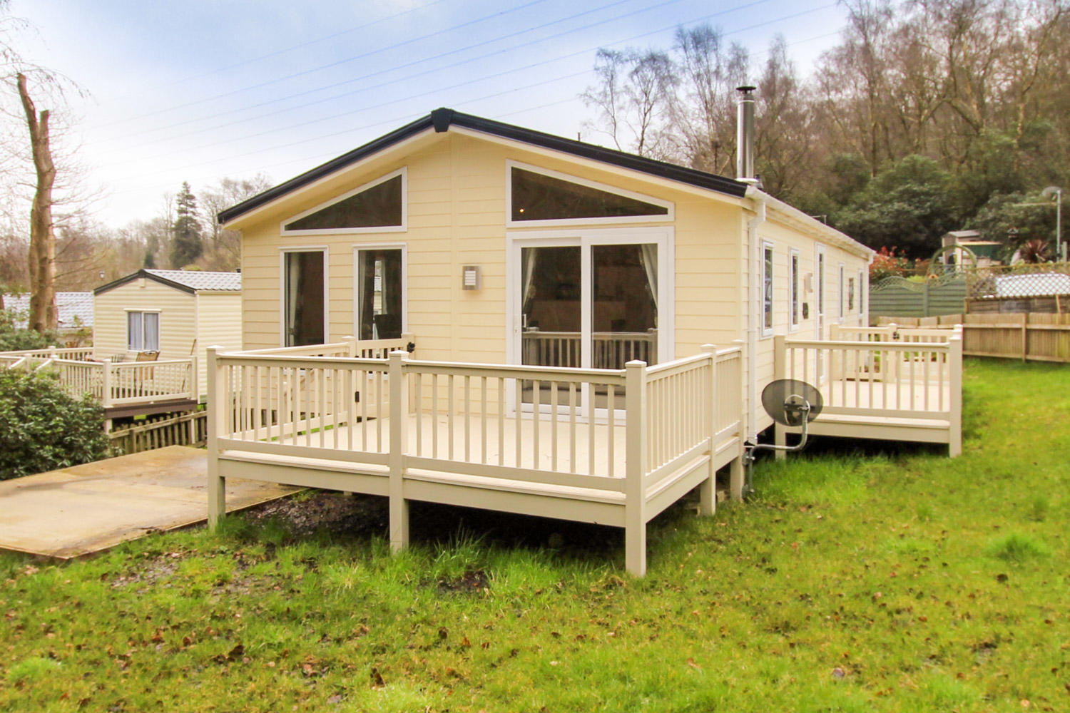 Delta Desire Lodge at Beauport Holiday Park, Hastings