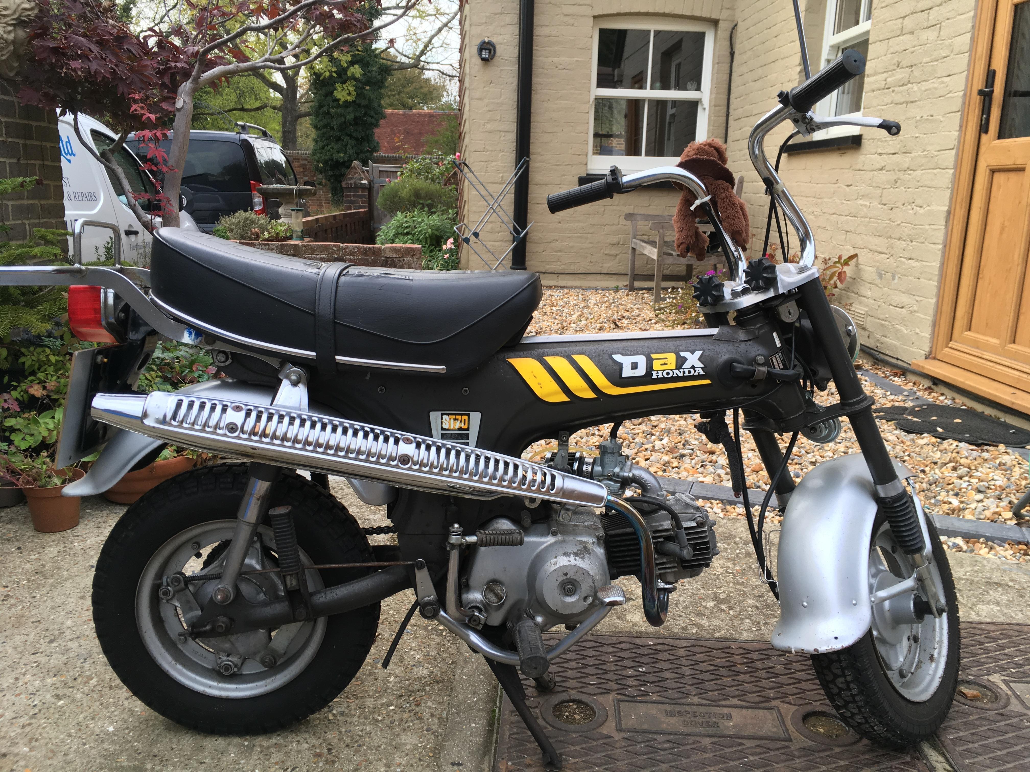 Honda 1979 Dax In Horsham Sold Friday Ad