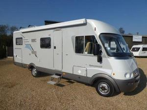 833b5fe6ce Hymer B 680 Starline 4 Berth Mercedes 2.7 Cdi Fixed Bed Automatic Motorhome  With 69320 Miles