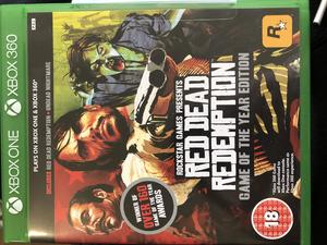 Red Dead Redemption 2 Xbox One - MINT condition, used once! in