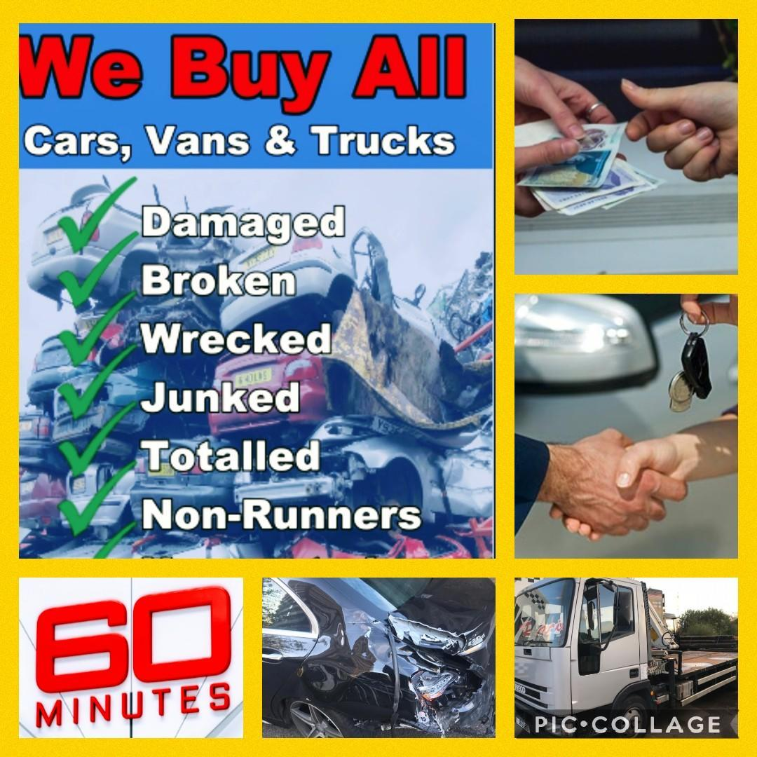 Scrap Your Car For Cash In 60 Minutes