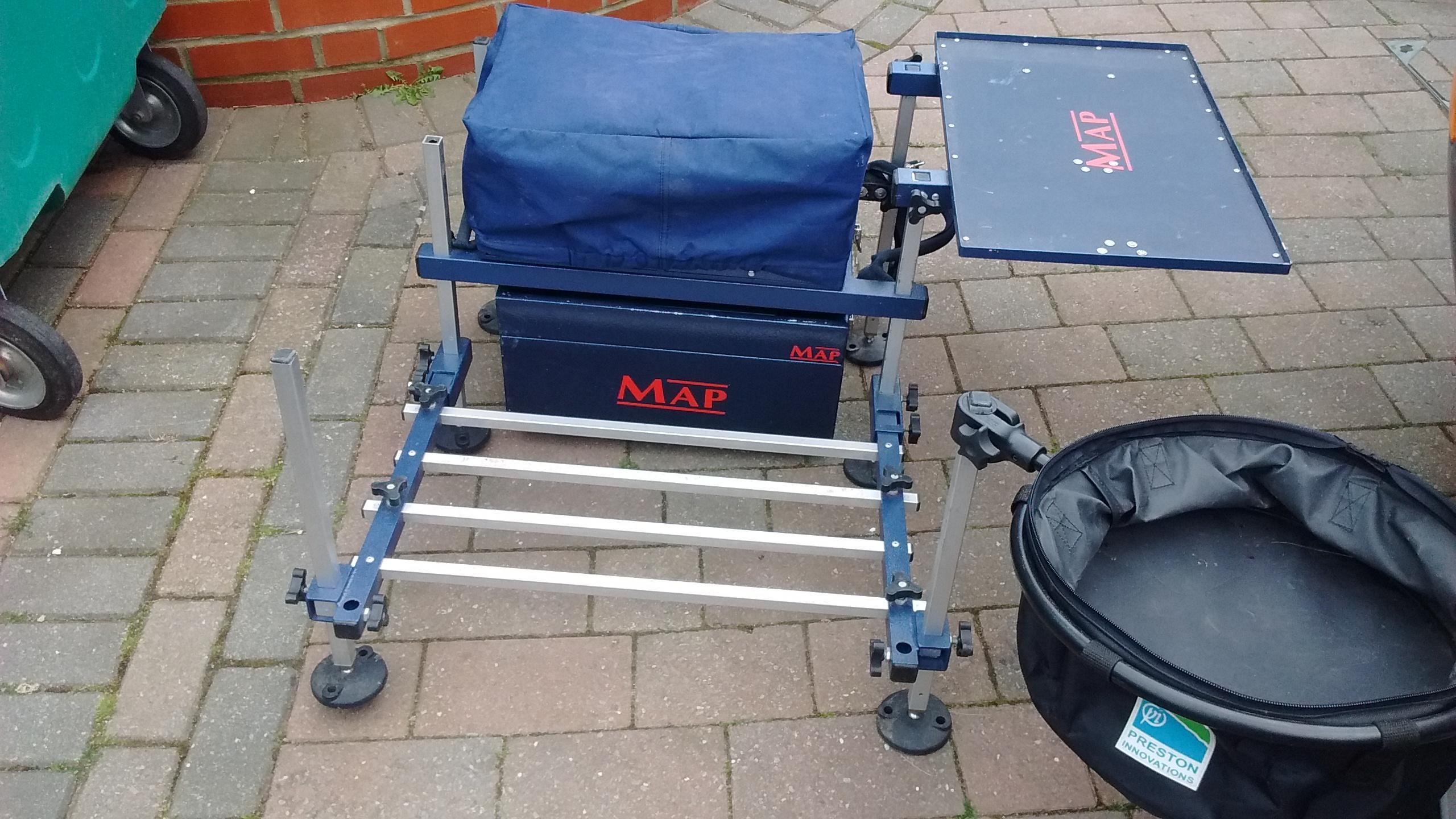 Map fishing seat box in Bournemouth - Expired | Friday-Ad