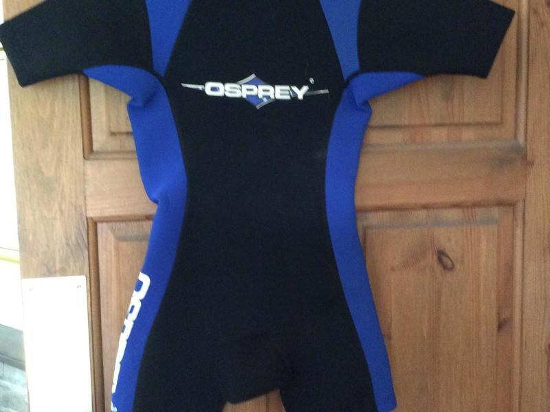 Sporting Goods Hospitable New Osprey Womens Short Wetsuit Sixe Small Wetsuits