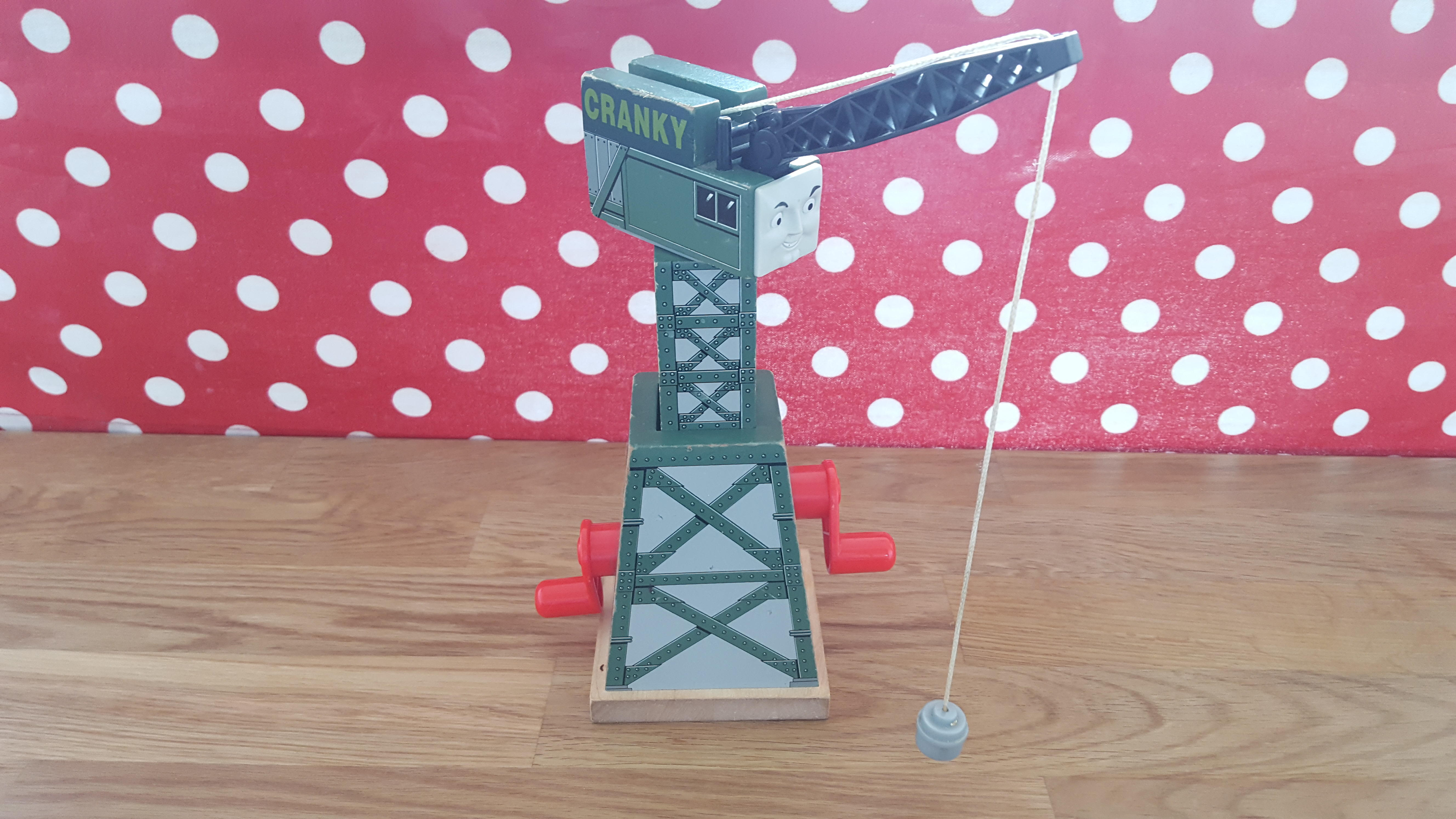 Thomas The Tank Engine Cranky Crane Wooden Toy For Brio Train Set