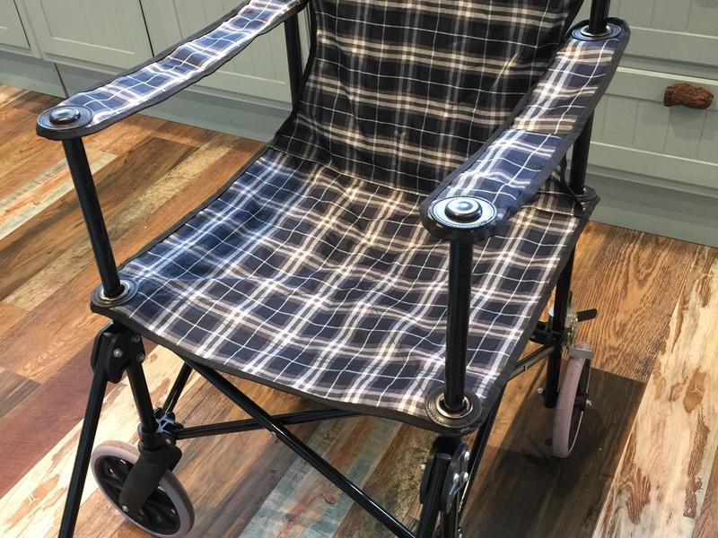 Lightweight wheelchair and full poncho in Eastbourne