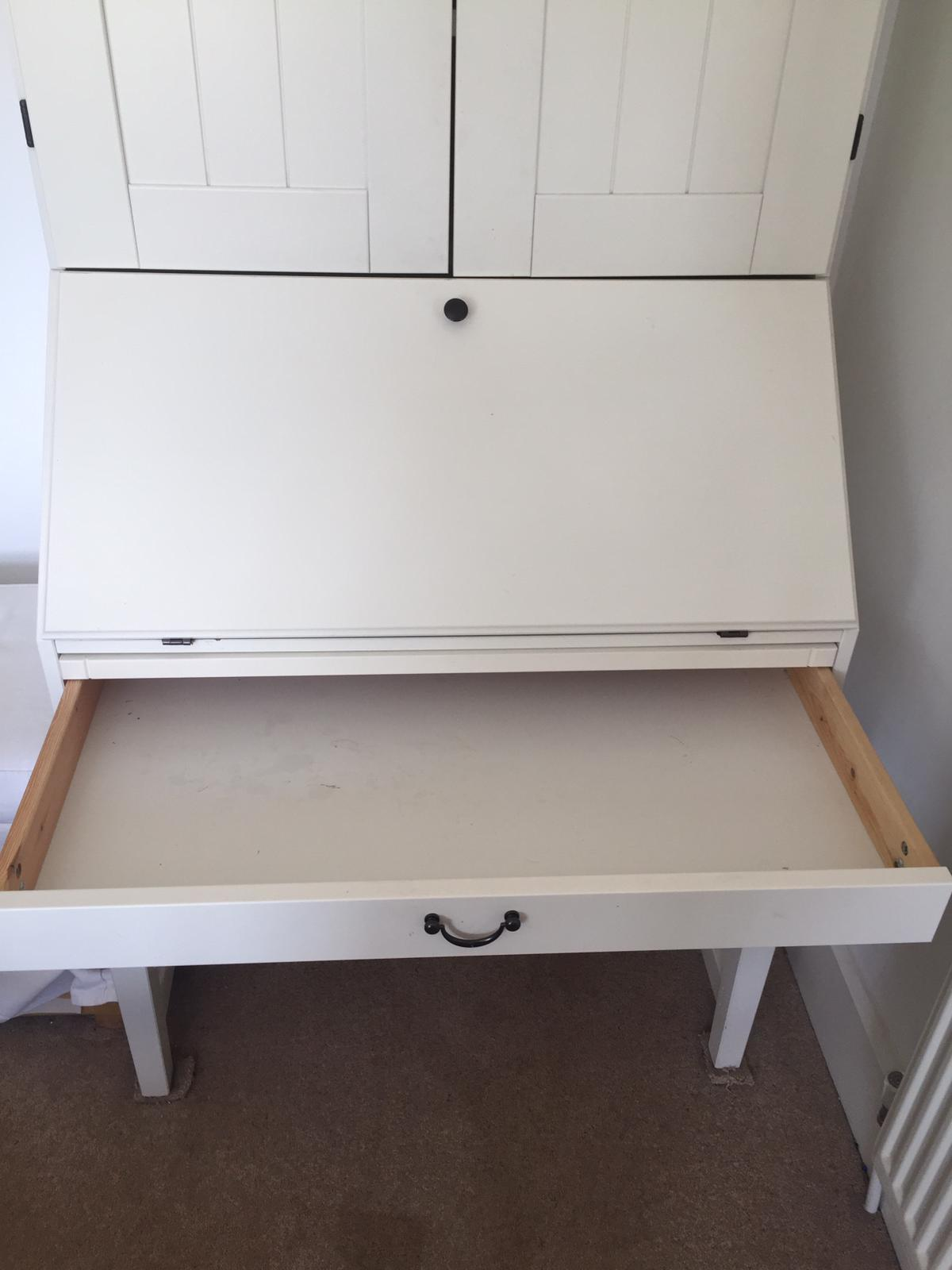 Ikea Alve Bureau Hideaway Desk Cream In Bath Sold Friday Ad