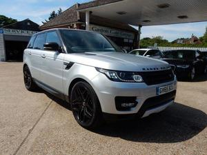 Used Silver Land Rover Range Rover Sport Cars for Sale in