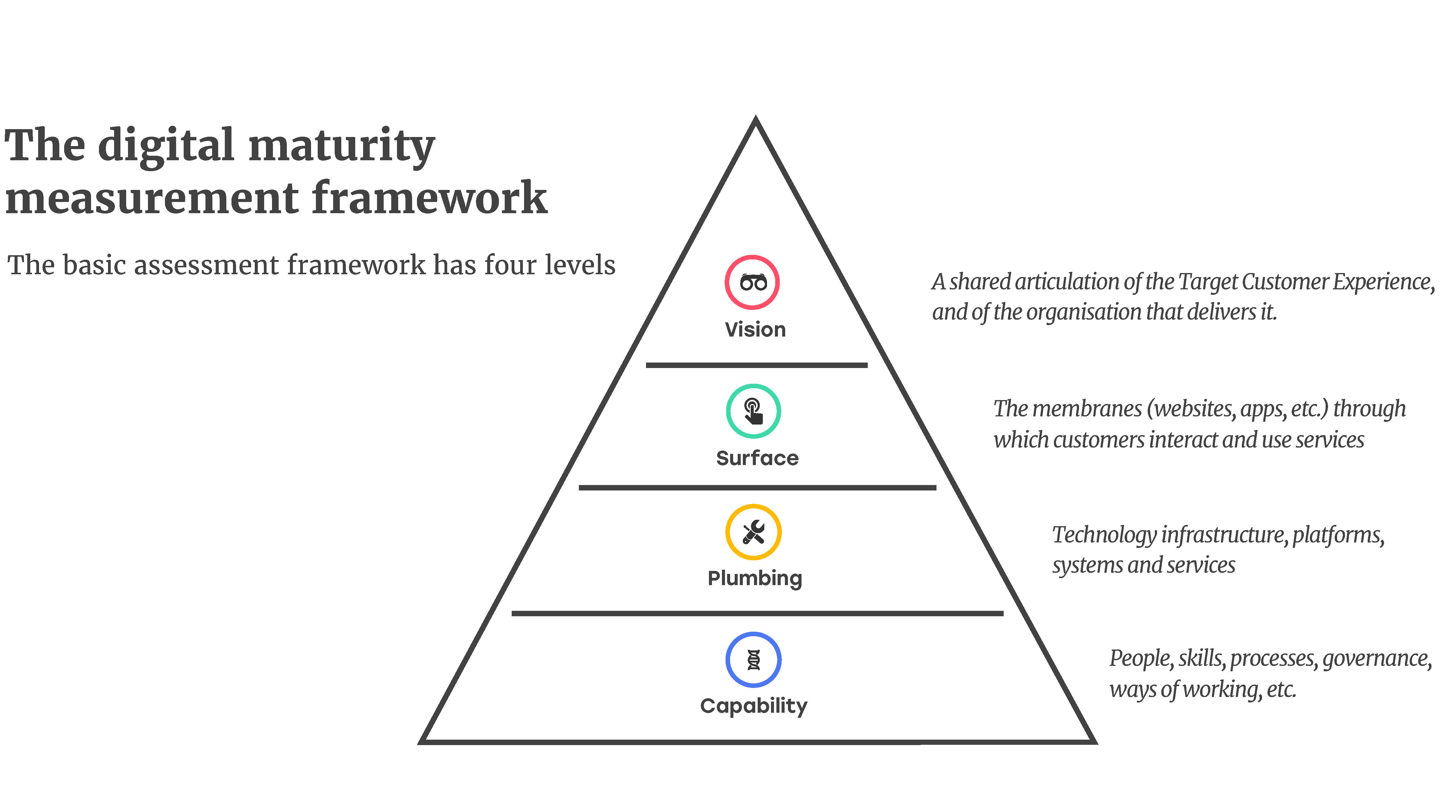 Friday Charity Digital Service Maturity Page 1