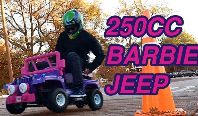 Quando o teu Jeep da Barbie tem mais potência que a tua scooter!!