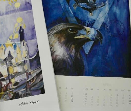 Kystkunst AS, Kalender 2021, Astri Reppe