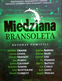 Miedziana Bransoleta